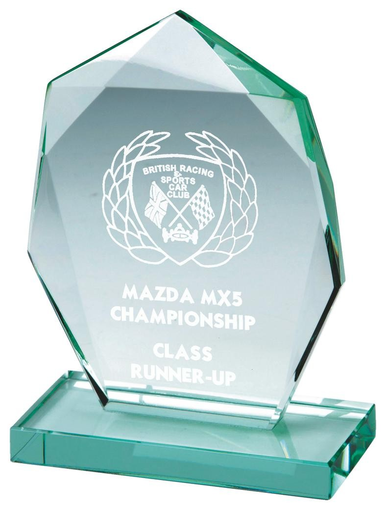 Jade Glass Stand Award