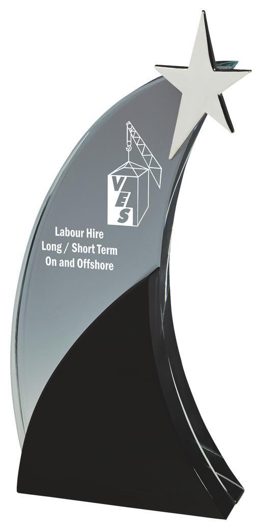 Glass Shooting Star Award