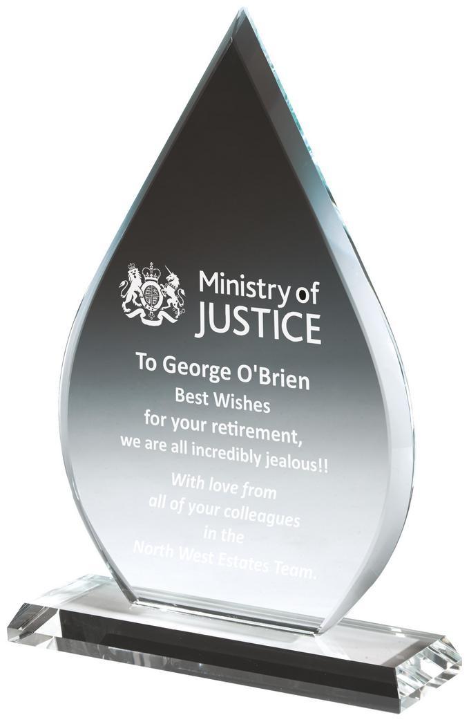 Crystal Teardrop Award
