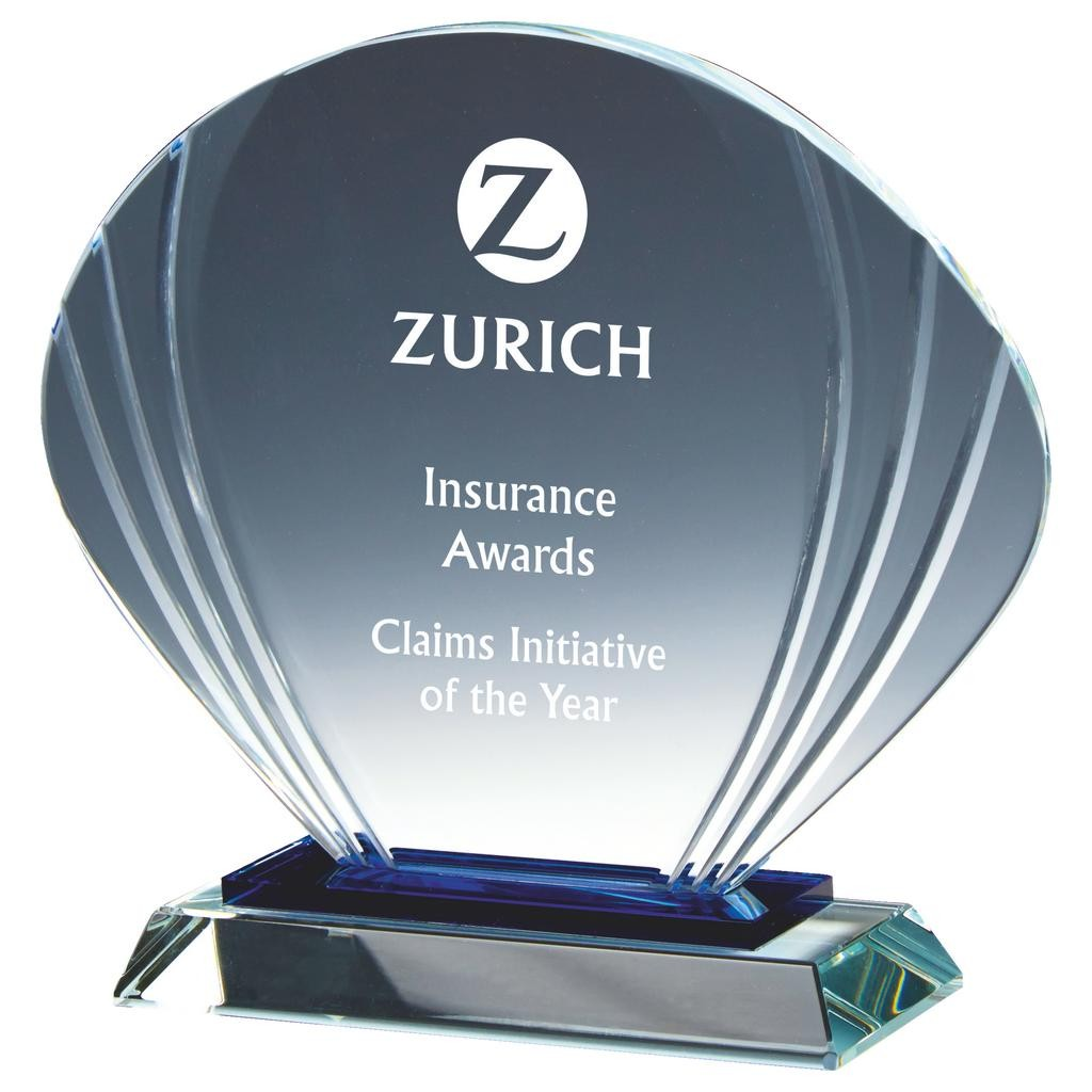 Glass Shell Award - Available in 3 sizes