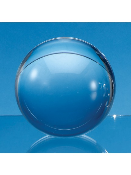 Optical Crystal Sphere with a Flat Base - 3 Sizes