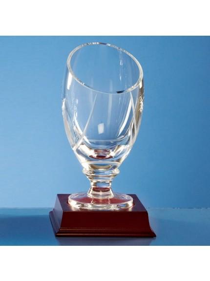 Handmade Slope Top Presentation Vase