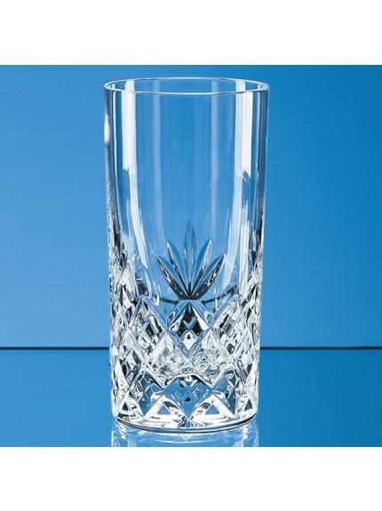 360ml Blenheim Lead Crystal Full Cut High Ball