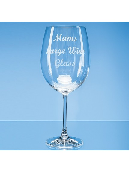 850ml 'Grande Vino' Full Bottle of Wine Glass