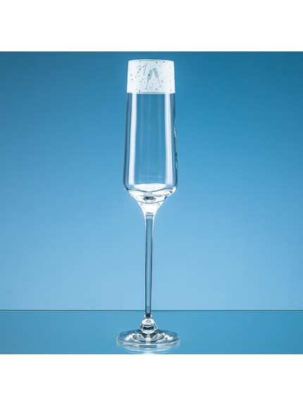 190ml '21' Frieze Design Champagne Flute