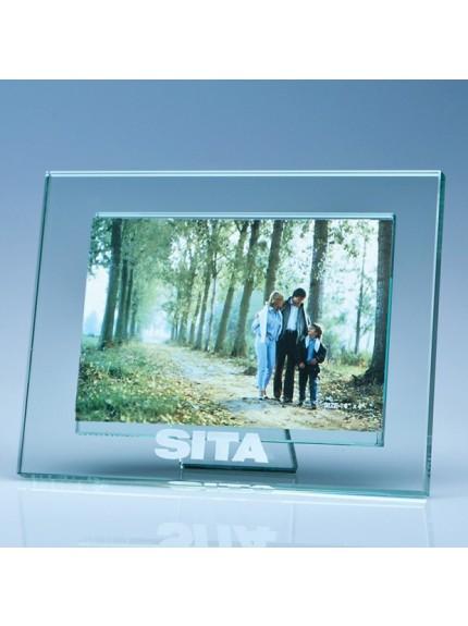 Jade Glass Photo Frame