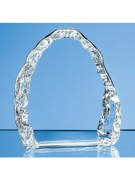Optical Crystal Vertical Ice Block