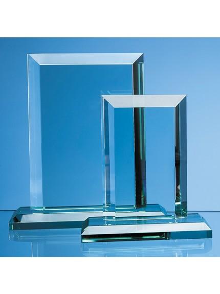 Jade Glass Mitred Rectangle Award