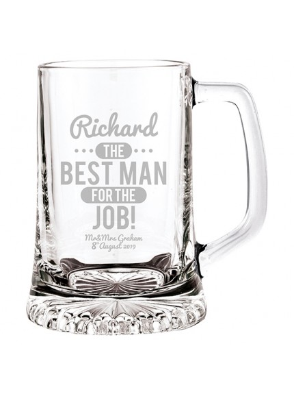 St. Francis Glass 0.2L Tankard 125mm