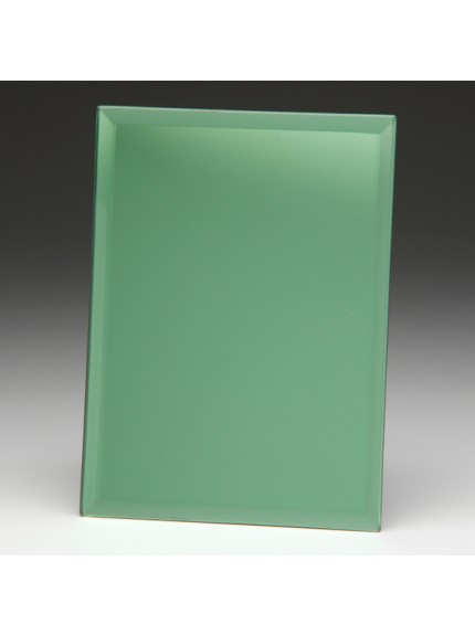 Emerald Green Mirrored Plaque