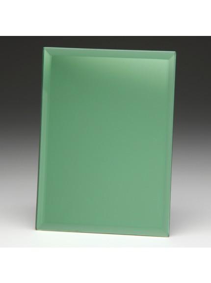Emerald Green Mirrored Plaque