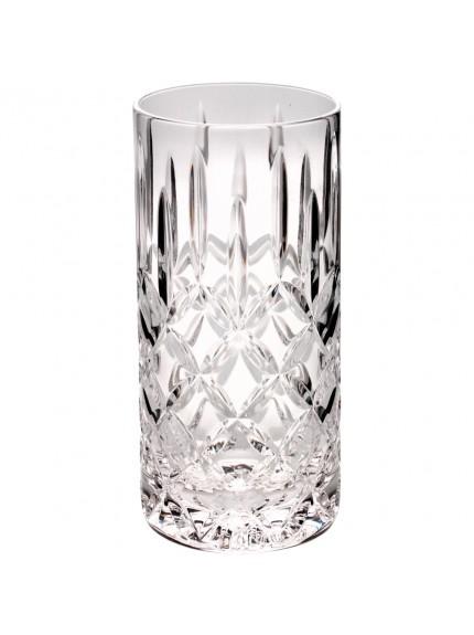 15.5cm 405Ml Highball Glass Tumbler - Fully Cut