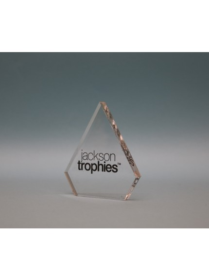 Freestanding Acrylic Diamond Award