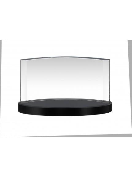 Clear & Black Crystal Award in Box