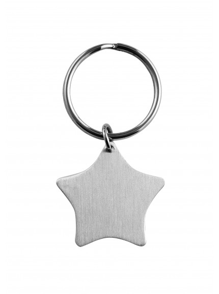 7cm Sateen FinStar Key Ring