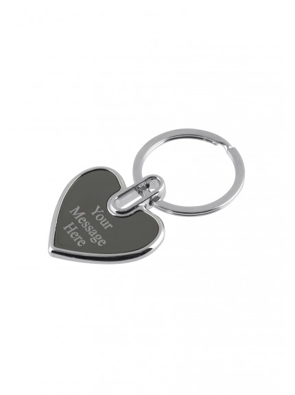 MB Heart Keyring