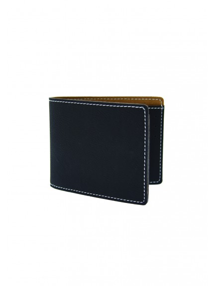 LZM Black with Silver Wallet