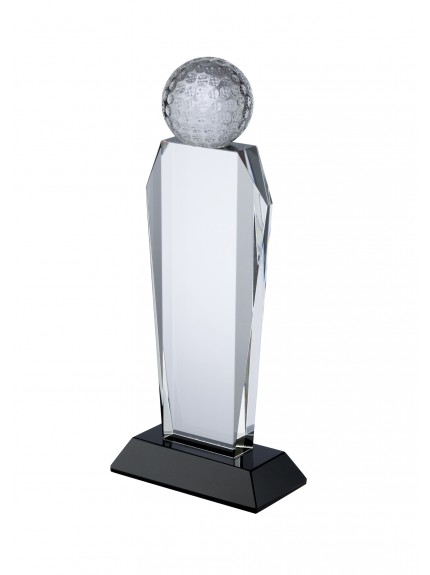 LG Crystal Golf Award - 3 Sizes