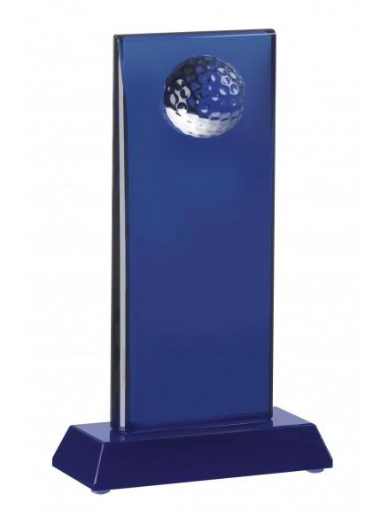 LG 19.5cm Saphire Glass Award Presentation Boxed