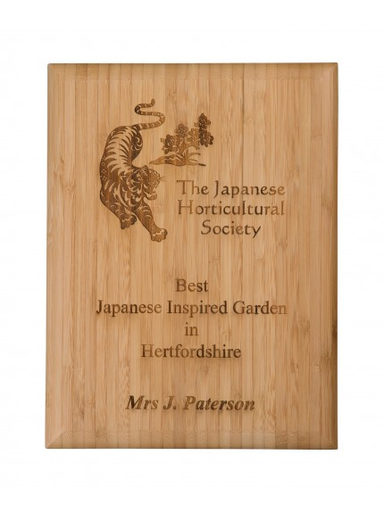 Bamboo Plaque