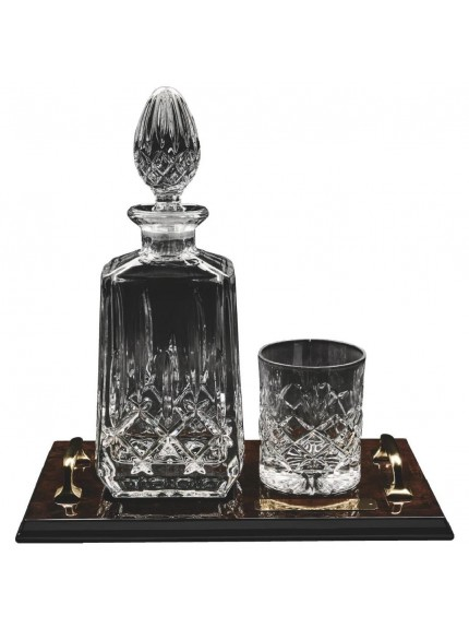 Spirit Decanter and Tumbler on Tray
