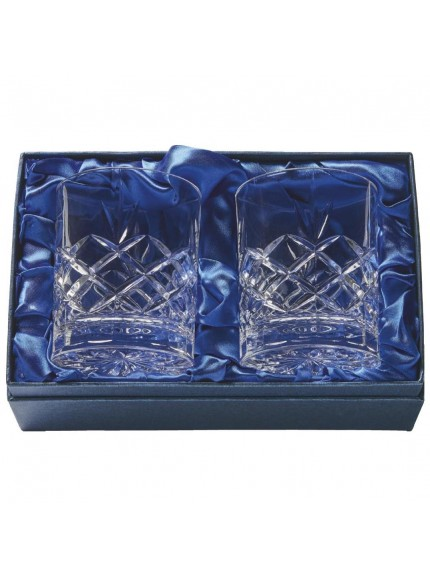 Two Whisky Tumblers in Presentation Box
