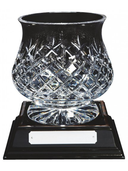 Lead Crystal Bowl Award with Base